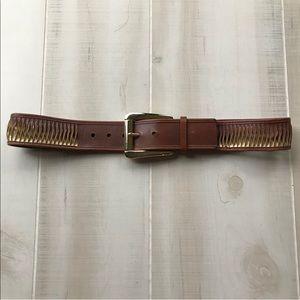 Michael Kors Spiral Belt